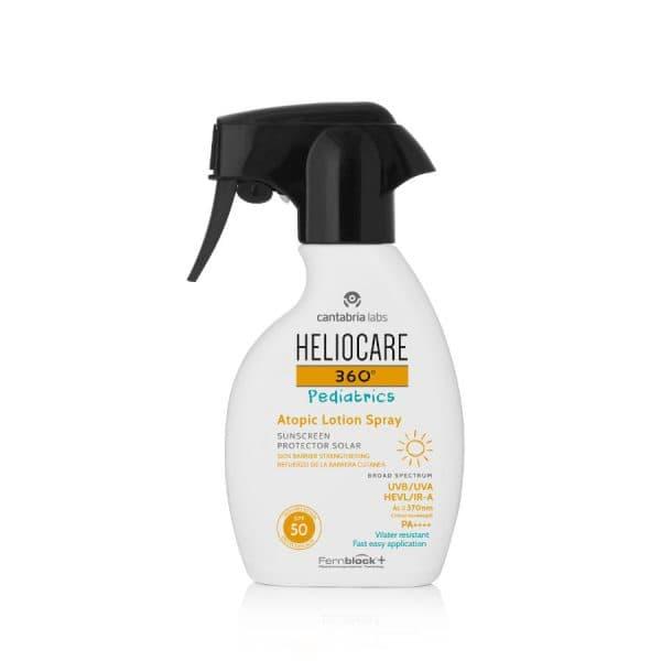 Heliocare 360° Pediatrics Atopic Lotion Spray SPF50